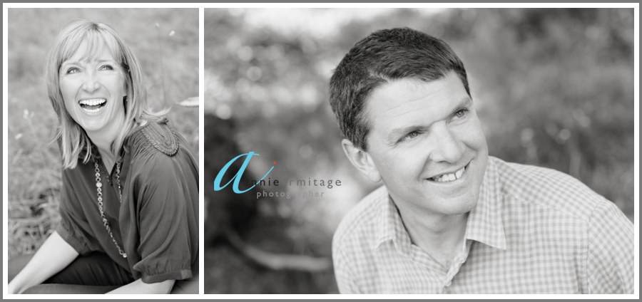 Husband and wife portraits in Kew, Richmond
