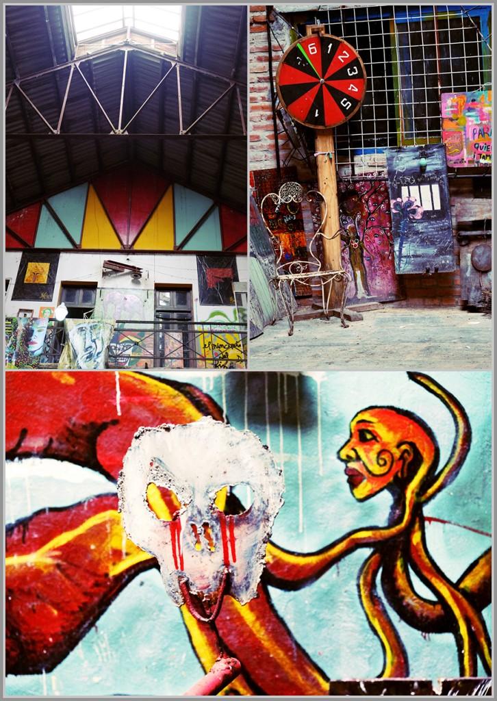 Unique art donated to La Borda, Buenos Aires