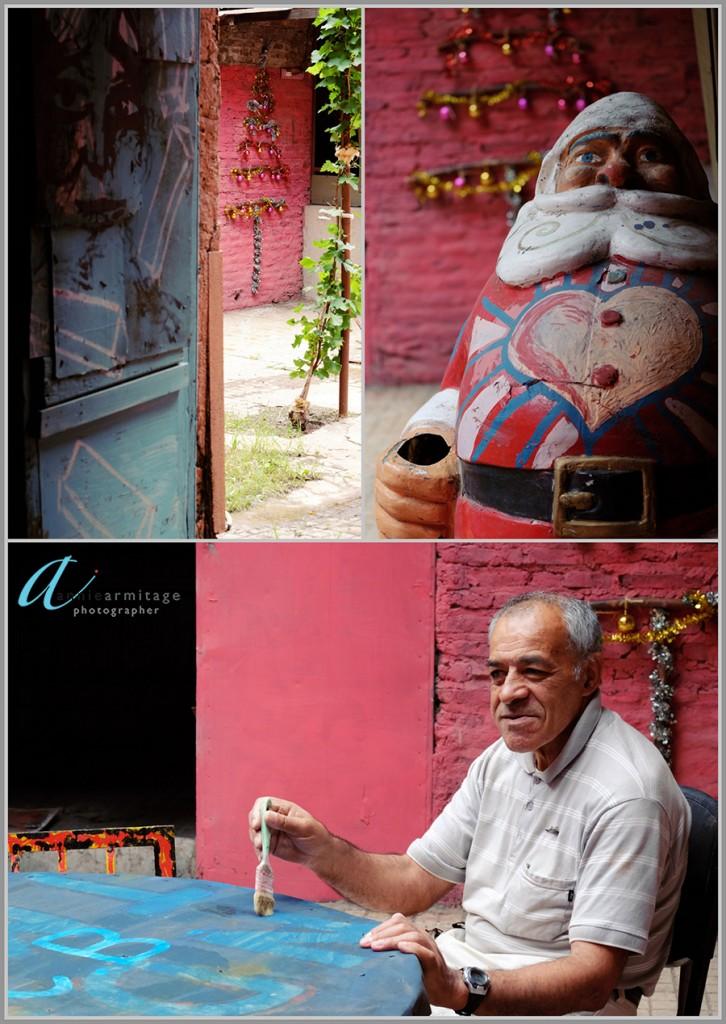 Colourful art in La Borda, Buenos Aires
