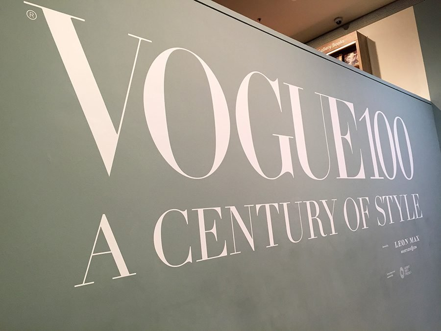 Vogue 100 at the National Portrait Gallery