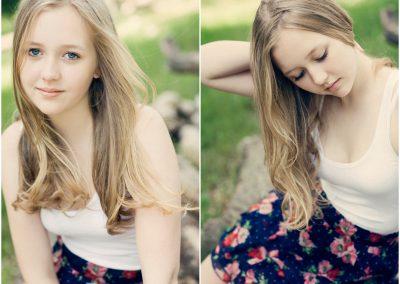Teenager photography