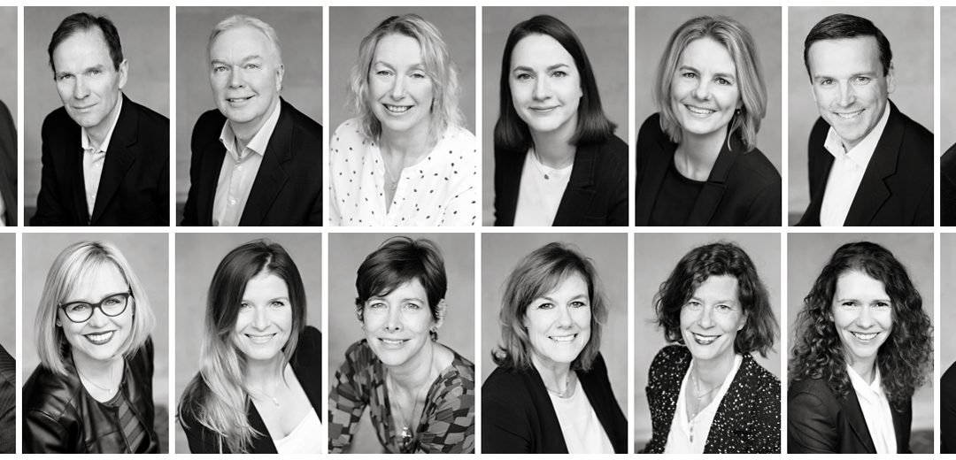 a montage of black and white headshots of coode associates in Richmond