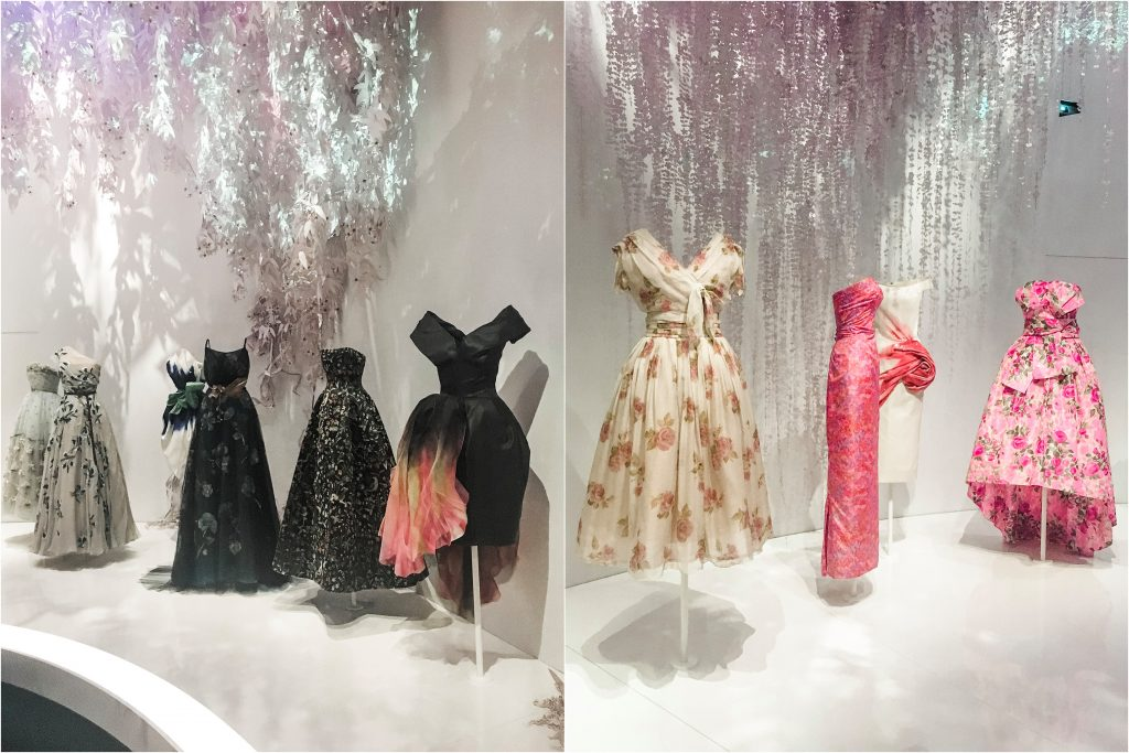 Darkness and light light dresses at dior V&A